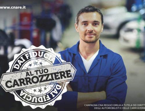 """CNA Reggio Emilia avvia la campagna """"Dai fiducia al Tuo carrozziere"""""""